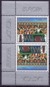 Latvia. 1998. tb. Europe. MNH.