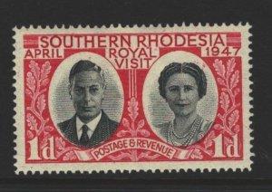 Southern Rhodesia Sc#66 MVLH