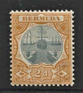 STAMP STATION PERTH Bermuda #36 Dry Dock MNH No Faults OG Extra Fine -CV$20.00