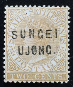 Malaya 1883-84 Sungei Ujong opt Straits Settlements QV 2c MH SG#29 M2305