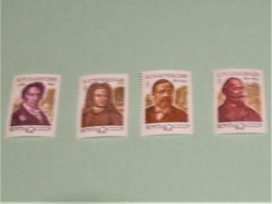 Russia - 6052-55, MNH Set. Historians. SCV - $1.00