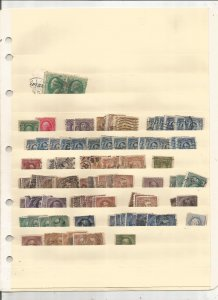 US COLLECTION ON STOCK SHEETS