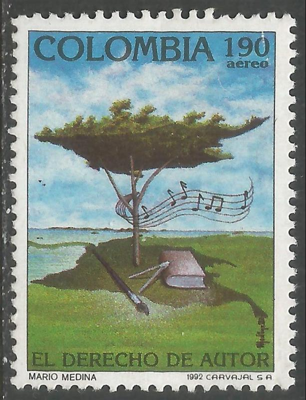 COLOMBIA C850 MNH CH1-83