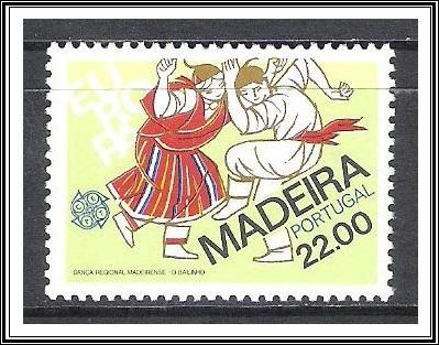 PORTUGAL MADEIRA Scott 74 MNH** 1981 Europa dance stamp