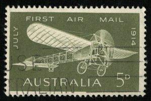Plane, 5D, Australia, 1914, MC #346 (T-7464)