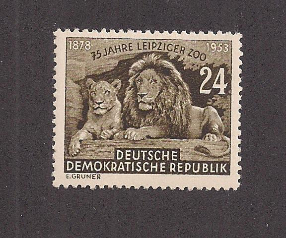 GERMANY - DDR SC# 179 F-VF OG 1953