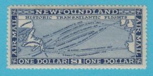 CANADA - NEWFOUNDLAND C8 - MINT LIGHTLY HINGED OG * NO FAULTS EXTRA FINE