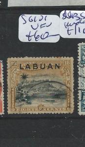 LABUAN (P2201B) 18C MOUNTAIN SG 101  VFU
