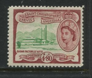 St. Kitts QEII 1954  $4.80 mint o.g.