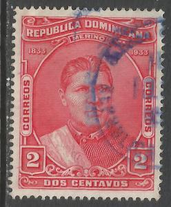 DOMINICAN REPUBLIC 268 VFU O88-1