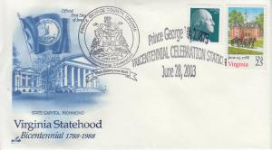 2003 Virginia Prince George County TriCentennial Pictorial