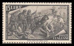 Italy 502 Mint VF H