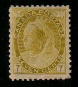 Canada Scott 81 Mint hinged (Catalog Value $150.00)