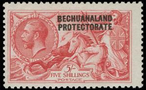 Bechuanaland Scott 95 Gibbons 89 Never Hinged Stamp