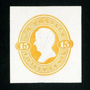 US Stamps # U198 Superb Fresh cut square
