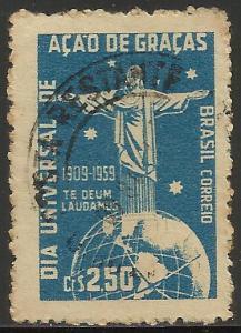 Brazil 1959 Scott# 901 Used