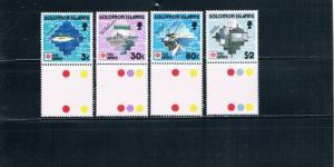 Solomon Islands 703-706 Fish MNH (S0048)