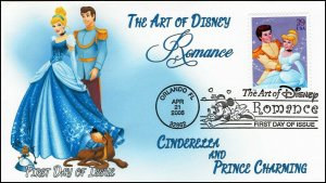 AO-4026-2, 2006, The Art of Disney, Add-on Cover, First Day Cover, Pictorial,
