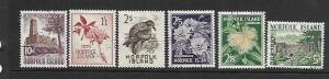 NORFOLK ISLAND, 35-40, USED, TYPES OF 1953