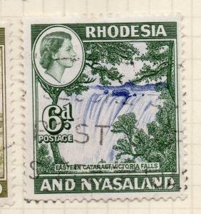 Rhodesia 1959 Early Issue Fine Used 6d.