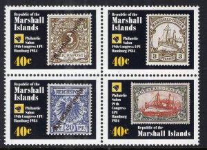 Marshall Islands 53a Stamp on Stamp MNH VF