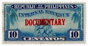 (I.B) Philippines Revenue : Documentary 10c