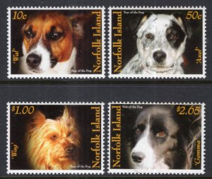 Norfolk Island 889-892 Dogs MNH VF