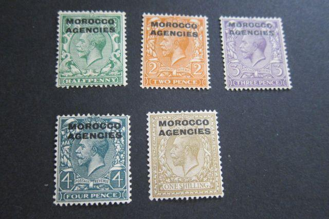 Morocco SG 42,45-47,49 MH selected OurRef#w203