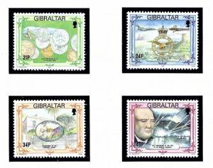 Gibraltar 645-48 MNH 1993 set