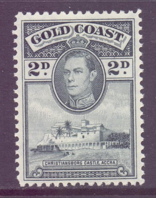 Gold Coast Scott 118 - SG123, 1938 George VI 2d Perf 12 MH*