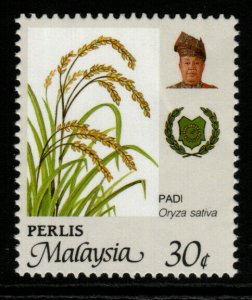 MALAYA PERLIS SG79f 1994 30c AGRICULTURAL PRODUCTS PERF15X14½ MNH