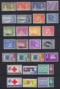 SEYCHELLES INTERESTING MINT & USED COLLECTION REMOVED FROM STOCK PAGES - W196
