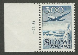 Finland, Scott #C4, 300m blue, Mint, Never Hinged, Douglas DC-6