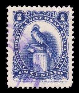 GUATEMALA STAMP 1954. SCOTT # 354. USED. # 11