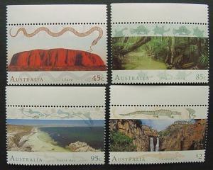 Australia, Scott 1311-1314, MNH Set