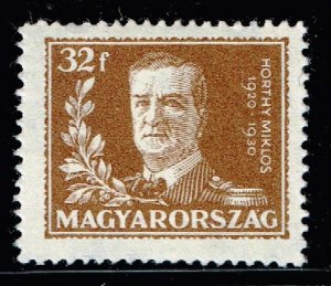 HUNGARY STAMP 1930 The 10th Anniversary of the Regency of Admiral Horthy MH 32F
