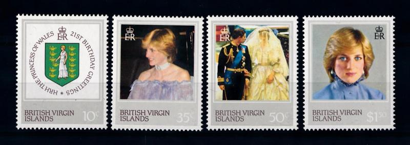 [71265] British Virgin Islands 1982 Princess Diana  MNH