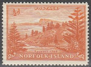 Norfolk Island #1 MNH