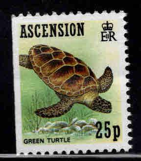 ASCENSION  Scott 481 Green Sea Turtle  MNH** booklet stamp