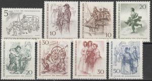 Germany #9N267-74  MNH F-VF CV $3.50