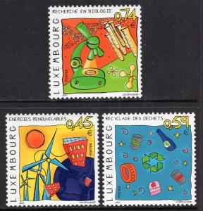 Luxembourg 1063-1065 MNH VF