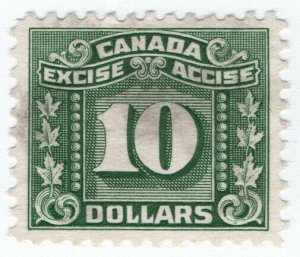 (I.B) Canada Revenue : Excise Tax $10
