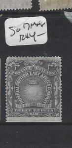 BRITISH EAST AFRICA (P0105B) ARMS   3R  ST EDGE  SG 17   MNG