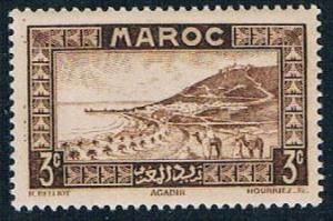 French Morocco 126 MLH Roadstead at Agadir 1933 (F0127)+