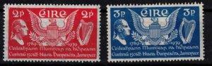 Ireland - Sc103-104 US constitution 150th anniv. mint - CV $14.50