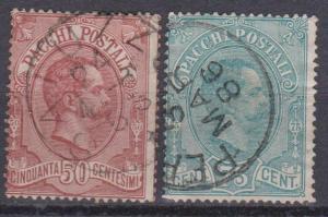 Italy #Q3-4 Fine Used CV $30.00 (B10331)