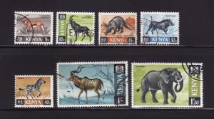 Kenya 20-22, 24-25, 29-30 U Animals