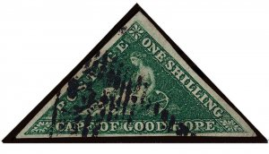 Cape of Good Hope Scott 6a Gibbons 8b Used Stamp