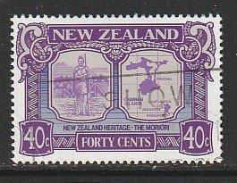 1989 New Zealand - Sc 950 - used VF - 1 single - NZ Heritage - Moriori