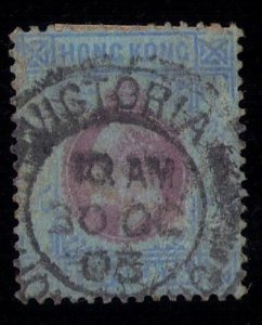 HONG KONG SCOTT #76 USED VERY FINE